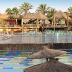 Yoga and pilates holidays in the sun – meditation and breathing retreat – Fuerteventura active travel - swimming pool